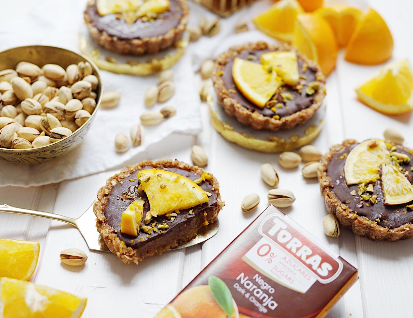 Zuckerfreie Orangen Tarte| Muskelmacher-Shop
