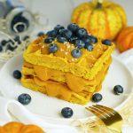 High Protein Pumpkin Pie Waffeln| Muskelmacher-Shop