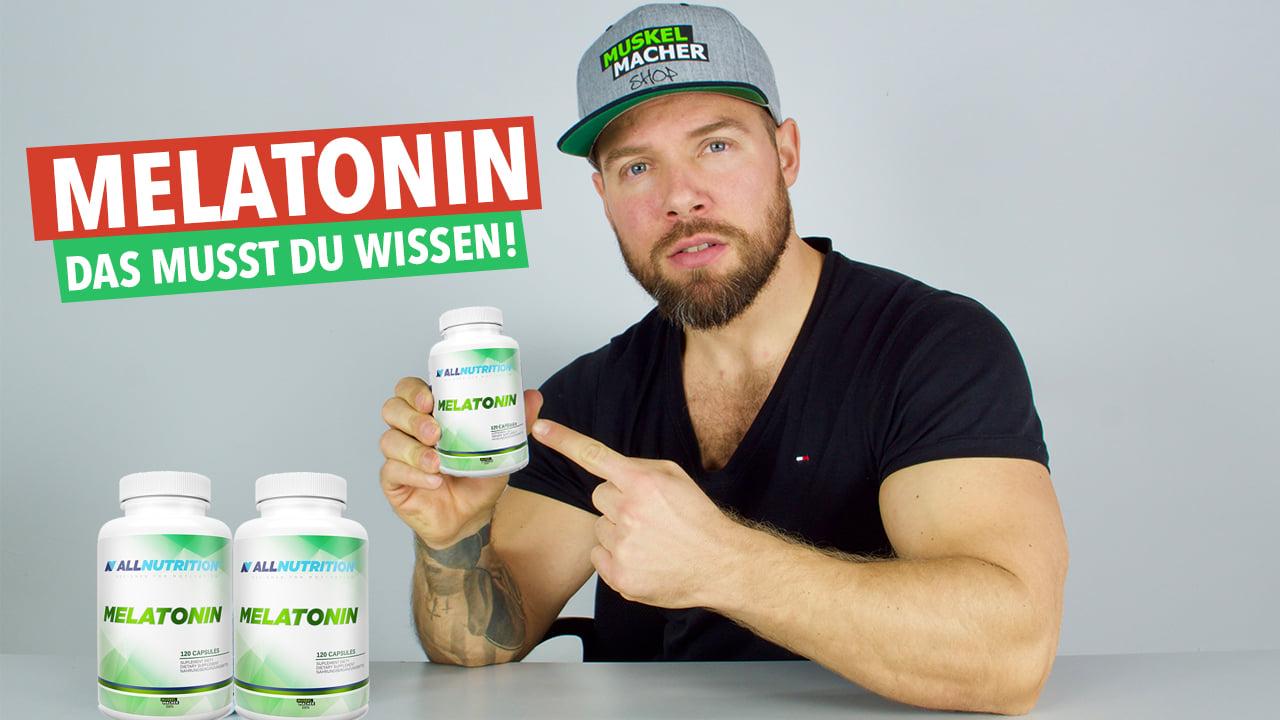Was bringt Melatonin & worauf musst DU bei der Einnahme achten? 😴  Muskelmacher Shop