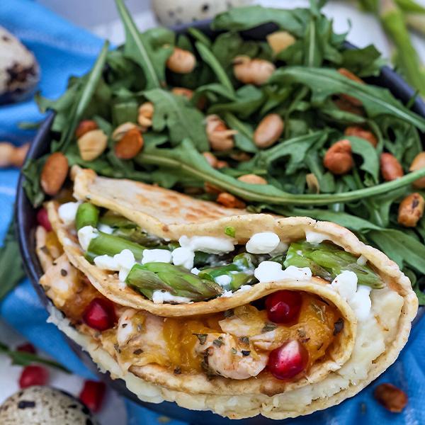 High Protein Tortilla Wrap| Muskelmacher-Shop