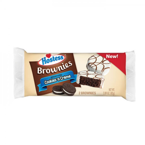 Hostess Brownies Cookies 'n Creme