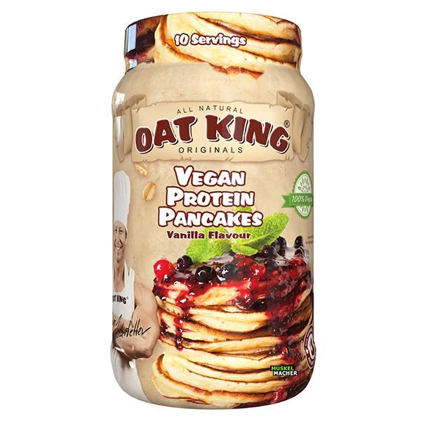 Oat King Vegan Protein Pancakes (Vanilla)