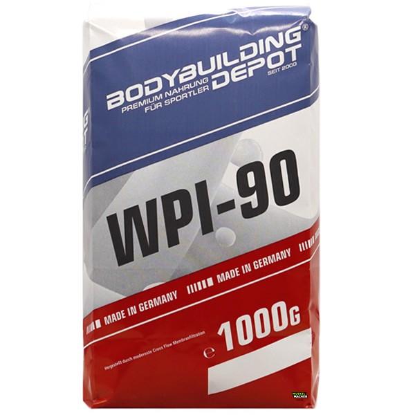 S.U. WPI-90 Whey Isolat 1000g Nachfüllpack