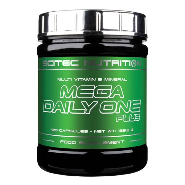 Scitec Nutrition Mega Daily One Plus (120 Kapseln)
