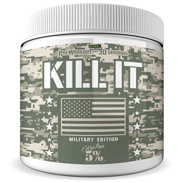 Rich Piana 5% Nutrition Kill it Military Edition