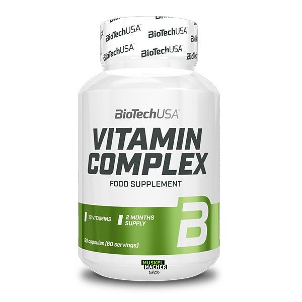 BioTech USA Vitamin Complex (60 Tabletten)