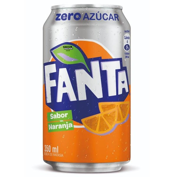 Fanta Orange No Sugar