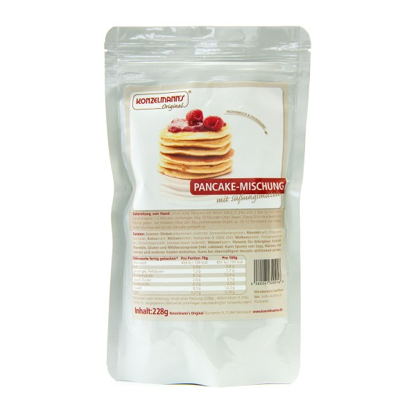Konzelmann´s Low Carb (kohlenhydratreduziert) Pancake-Mischung