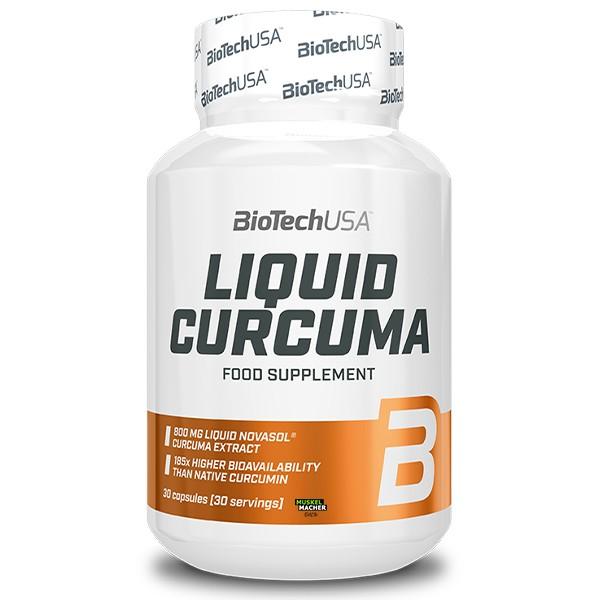 Biotech USA Liquid Curcuma (30 Kapseln)
