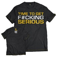 Dedicated T-Shirt Time to get F#cking serious (Gr. XL)