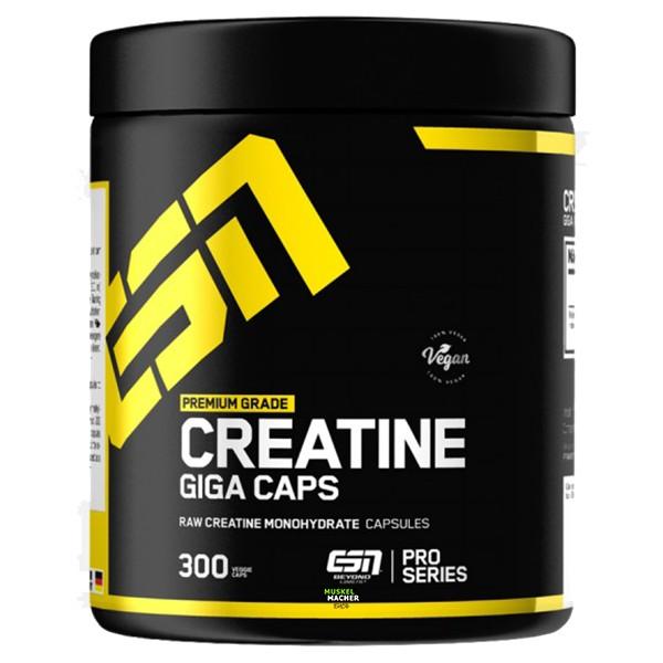 ESN Creatine Giga Caps (300 Kapseln)