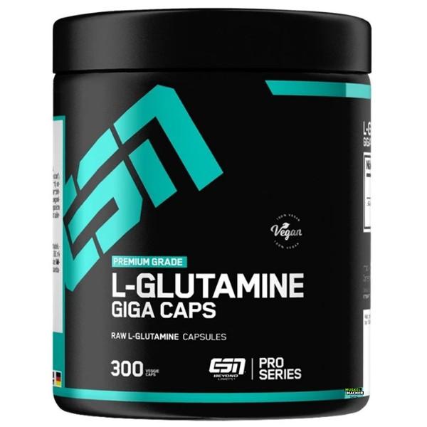 ESN L-Glutamine Giga Caps (300 Kapseln)
