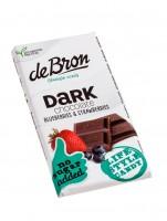 De Bron Stevia Schokolade Zartbitterschokolade