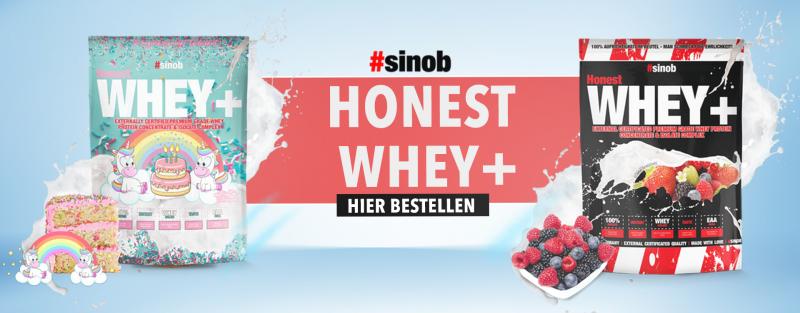 Jetzt das #Sinob Honest Whey Protein kaufen