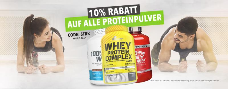 10% Rabatt auf Protein