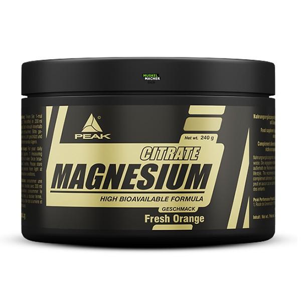 PEAK Magnesium Citrate (Orange)