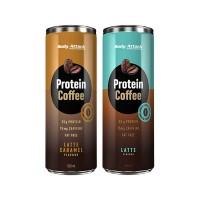 Body Attack Protein Coffee Latte|1 Dose