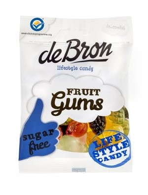 De Bron Fruit-Gums zuckerfrei