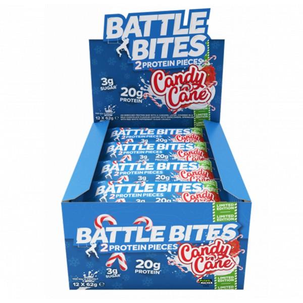 24er Box Battle Bites Candy Cane