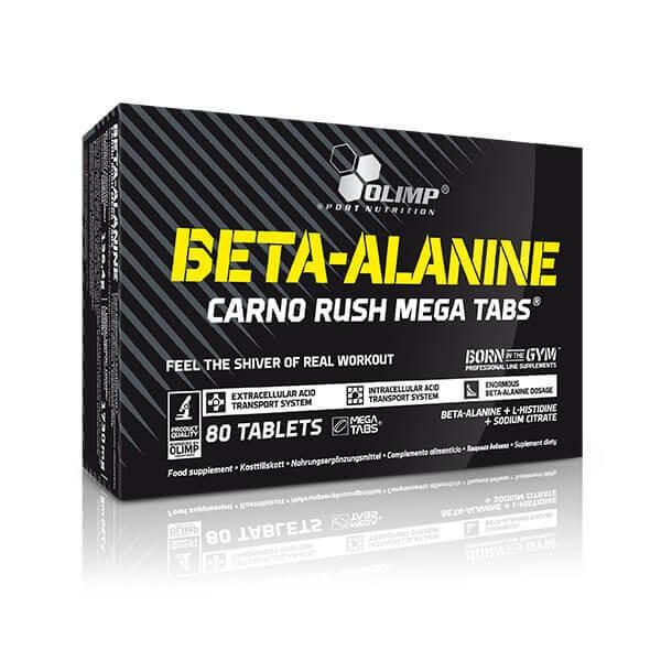 Olimp Beta-Alanine Carno Rush Mega Tabs (80 Tabletten)