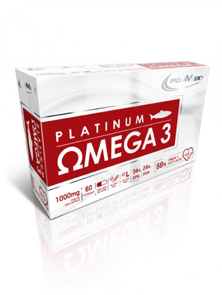 Ironmaxx Platinum Omega 3 (60 Kapseln)