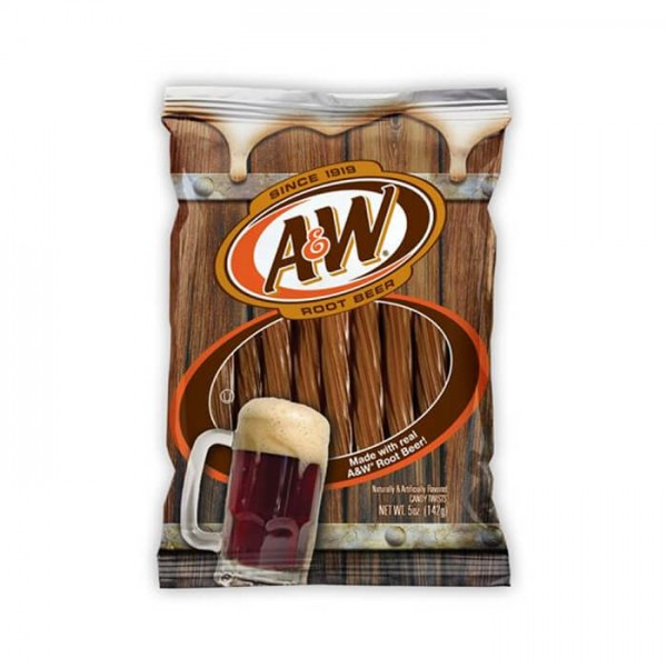 A&W Root Beer Candy Twists