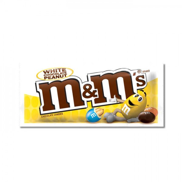 M&Ms White Chocolate Peanut