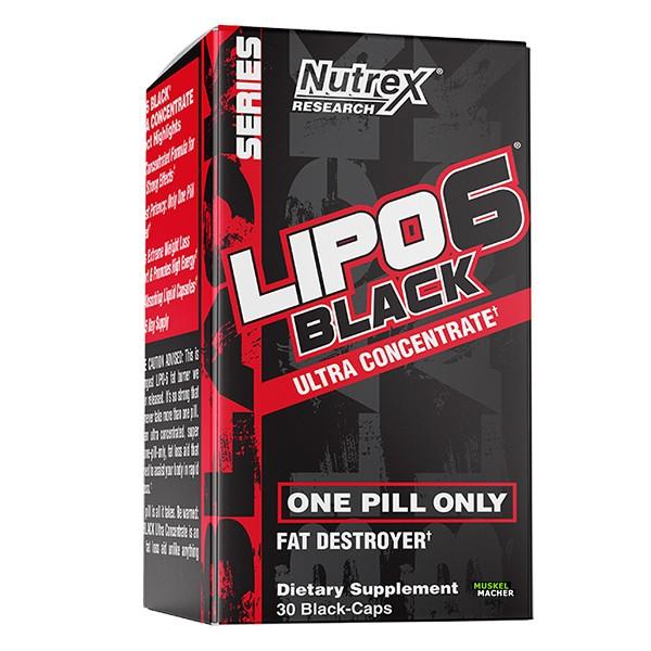 Nutrex Lipo-6 Black Ultra Concentrate (60 Kapseln)