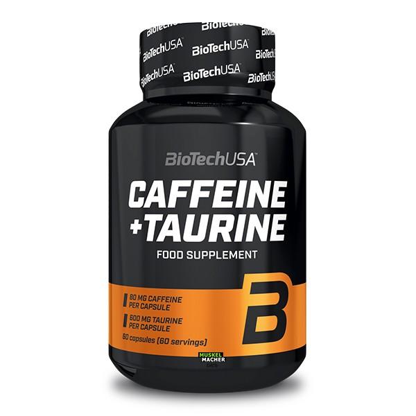BioTech USA Caffeine + Taurine (60 Kapseln)