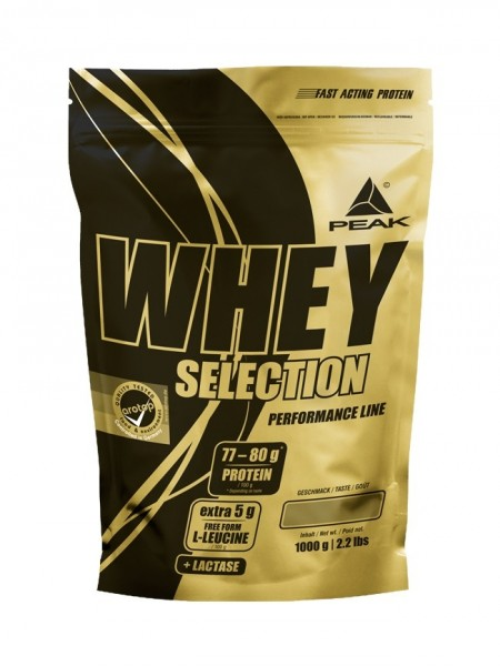 PEAK Whey Selection