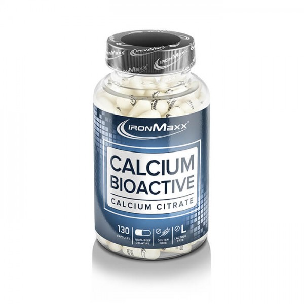Ironmaxx Calcium Bioactive (130 Kapseln)