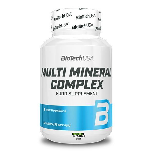 BioTech USA Multi Mineral Complex (100 Tabletten)