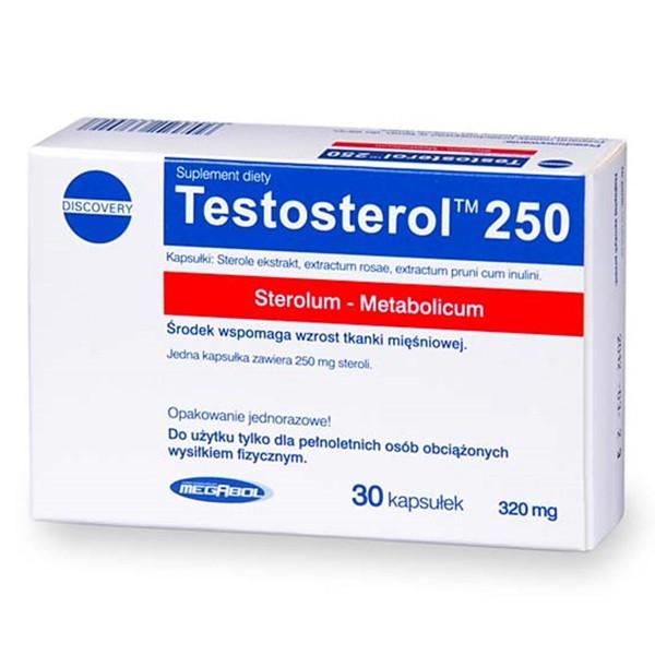 Megabol Testosterol 250 (30 Kapseln)