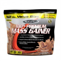 Muscletech 100% Premium Mass Gainer Strawberry