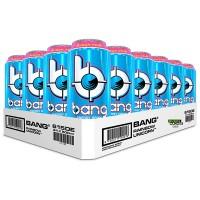 24x 500ml Bang Energy Drinks Blue Razz