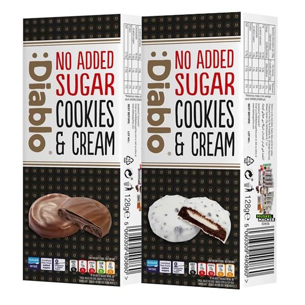 Diablo No Added Sugar Cookies & Cream