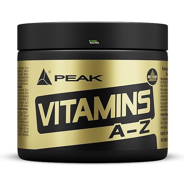 PEAK Vitamin A-Z (180 Tabletten)