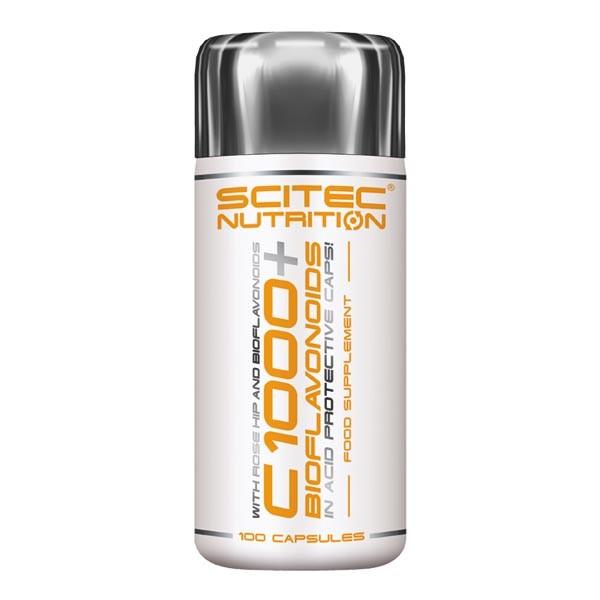 Scitec Nutrition Vitamin C 1000 + Bioflavonoids (100 Kapseln)