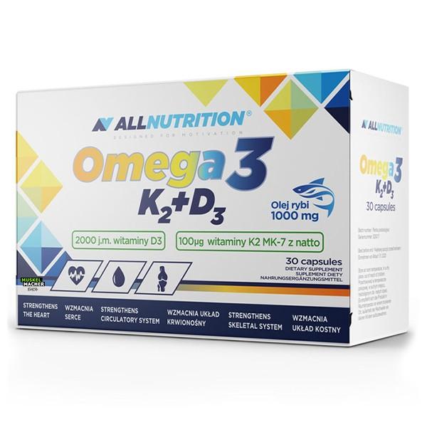 All Nutrition Omega 3 K2+D3 (30 Kapseln)