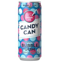 Candy Can Bubble Gum Drink