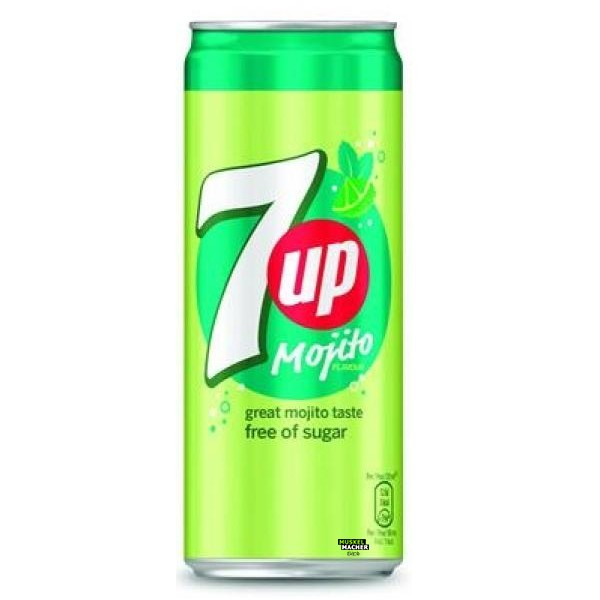 7UP Mojito Free of Sugar