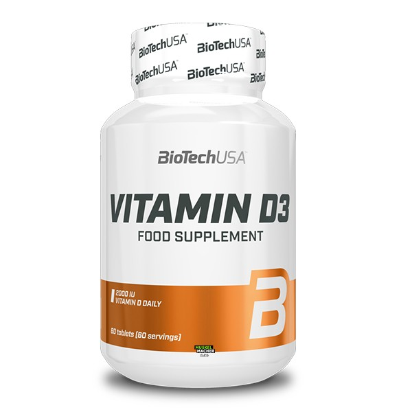 BioTech USA Vitamin D3 (60 Tabletten)