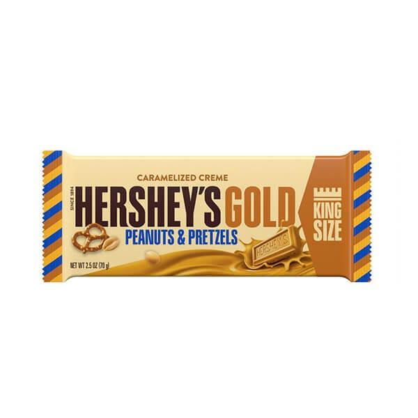 Hershey's Gold Pretzels King Size