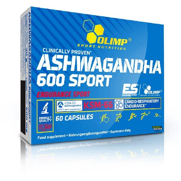 Olimp Ashwagandha 600 Sport (60 Kapseln)