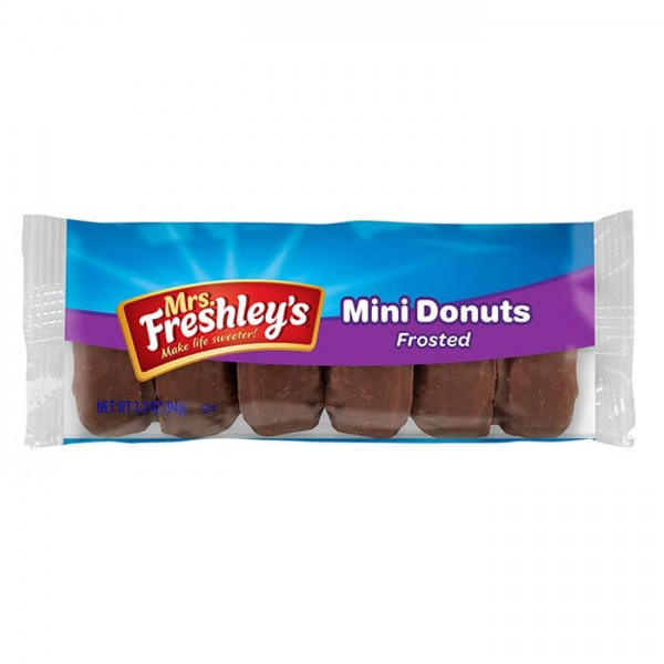 Mrs. Freshley's Mini Donuts Frosted