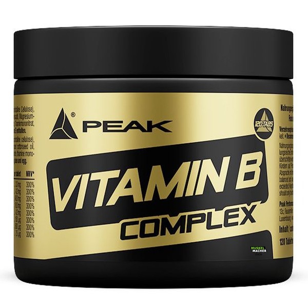 PEAK Vitamin B Complex (120 Tabs)