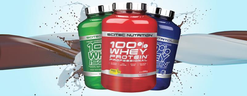 Scitec Nutrition Whey Protein im Muskelmacher Shop bestellen