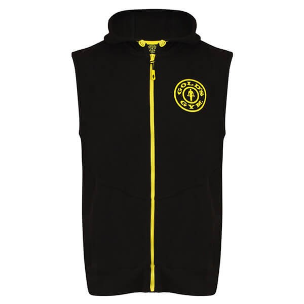 Gold`s Gym Logo Sleeveless Hoodie