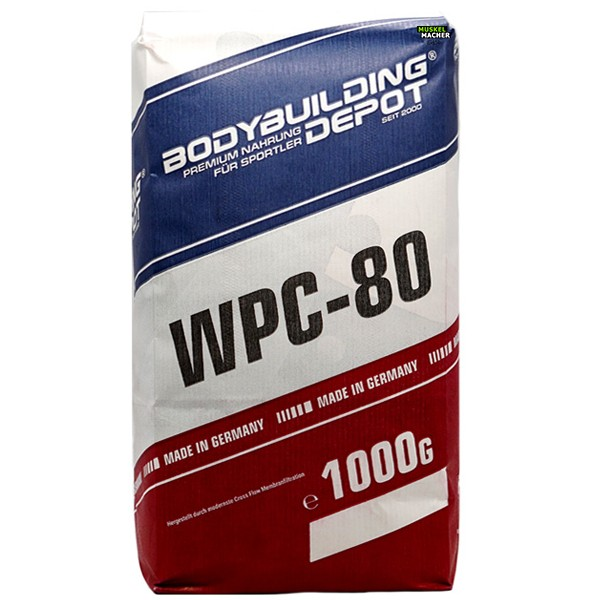 S.U. WPC-80 Whey Protein 1000g Nachfüllpack