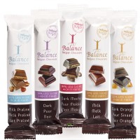Balance Belgian Chocolate Bar Reduced Sugar Dark Chocolate